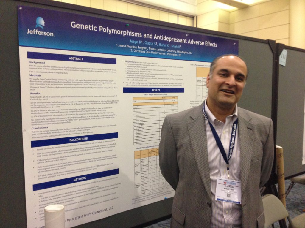Presenting my research at the American Psychiatric Association's annual meeting, 2015, in Toronto, Canada